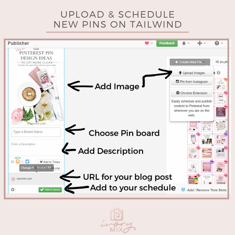 How to create 30 days of unique pins for pinterest from just 3 of your blog posts (4)