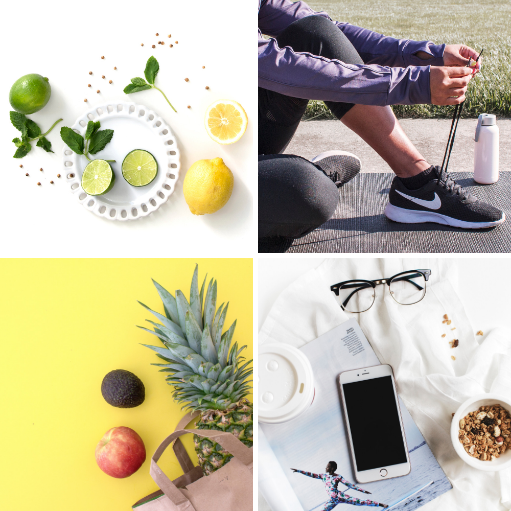 stock photos for wellness health and fitness brands