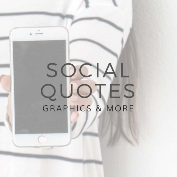 Social Quotes