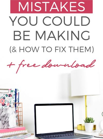 50 Pinterest Mistakes That Could Seriously Hurt Your Traffic
