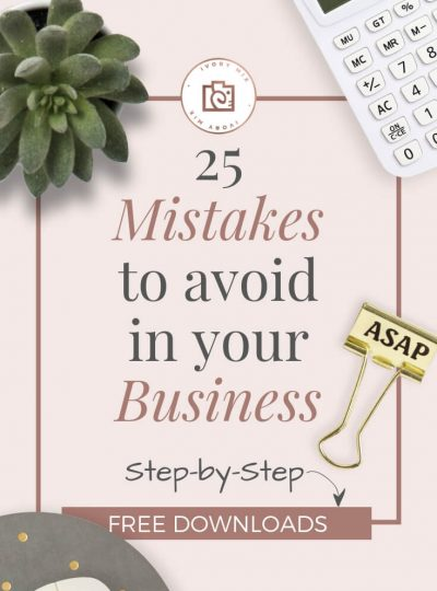 25 Mistakes to avoid in your first year as a new digital business