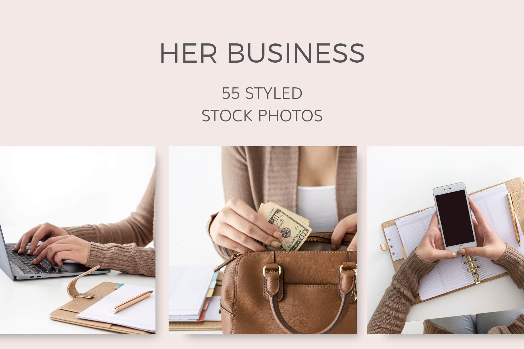 Her Business Styled Stock Photos