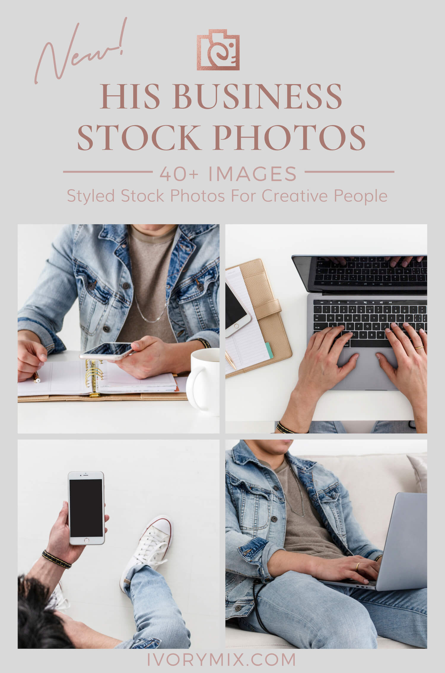 His Business Styled Stock Photos for Men Entrepreneurs and Biz Owners