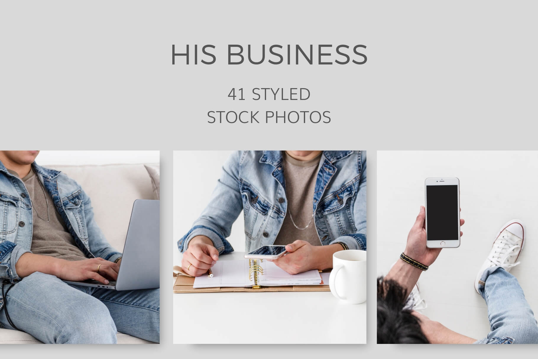 His Business Styled Stock Photos for Men