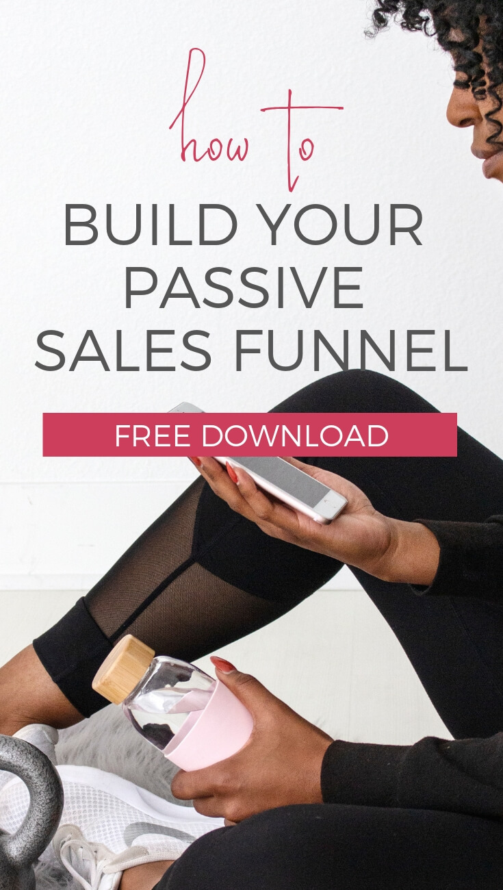 How to build your own passive income sales funnel in your online business and blog