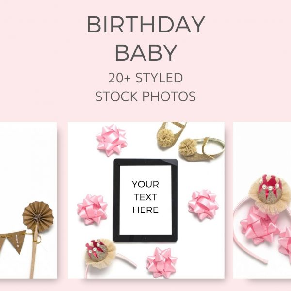 Birthday Baby Stock Photos