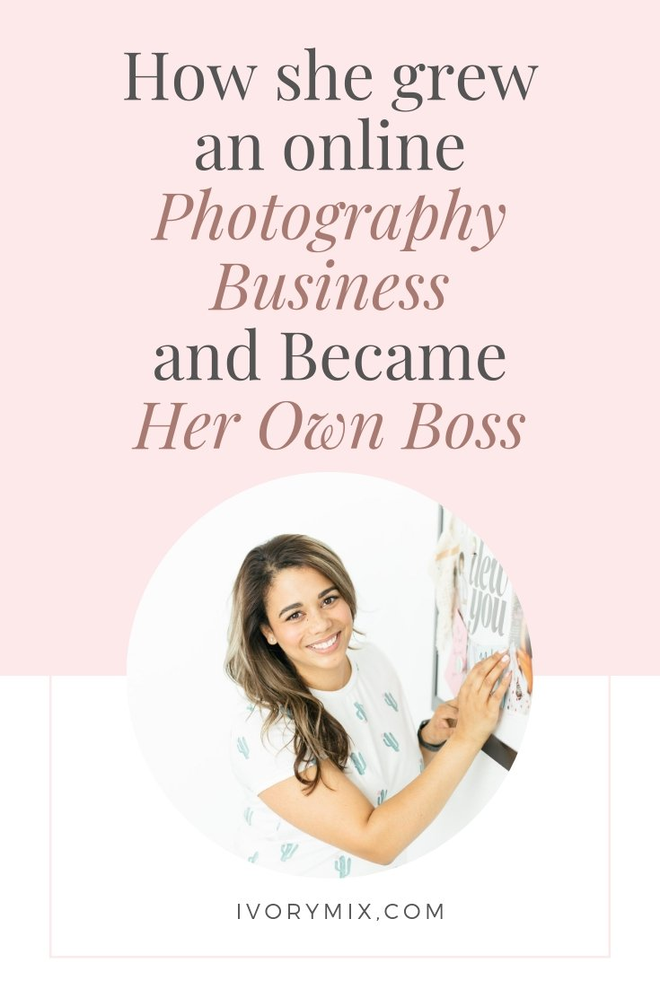 How Crystal grew a photography business and became her own boss and (1)