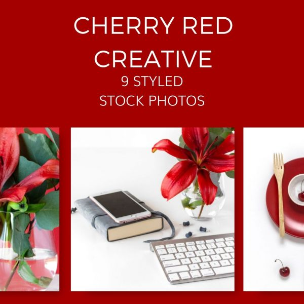 cherry red creative Styled Stock Photos by Ivory MIx(2)