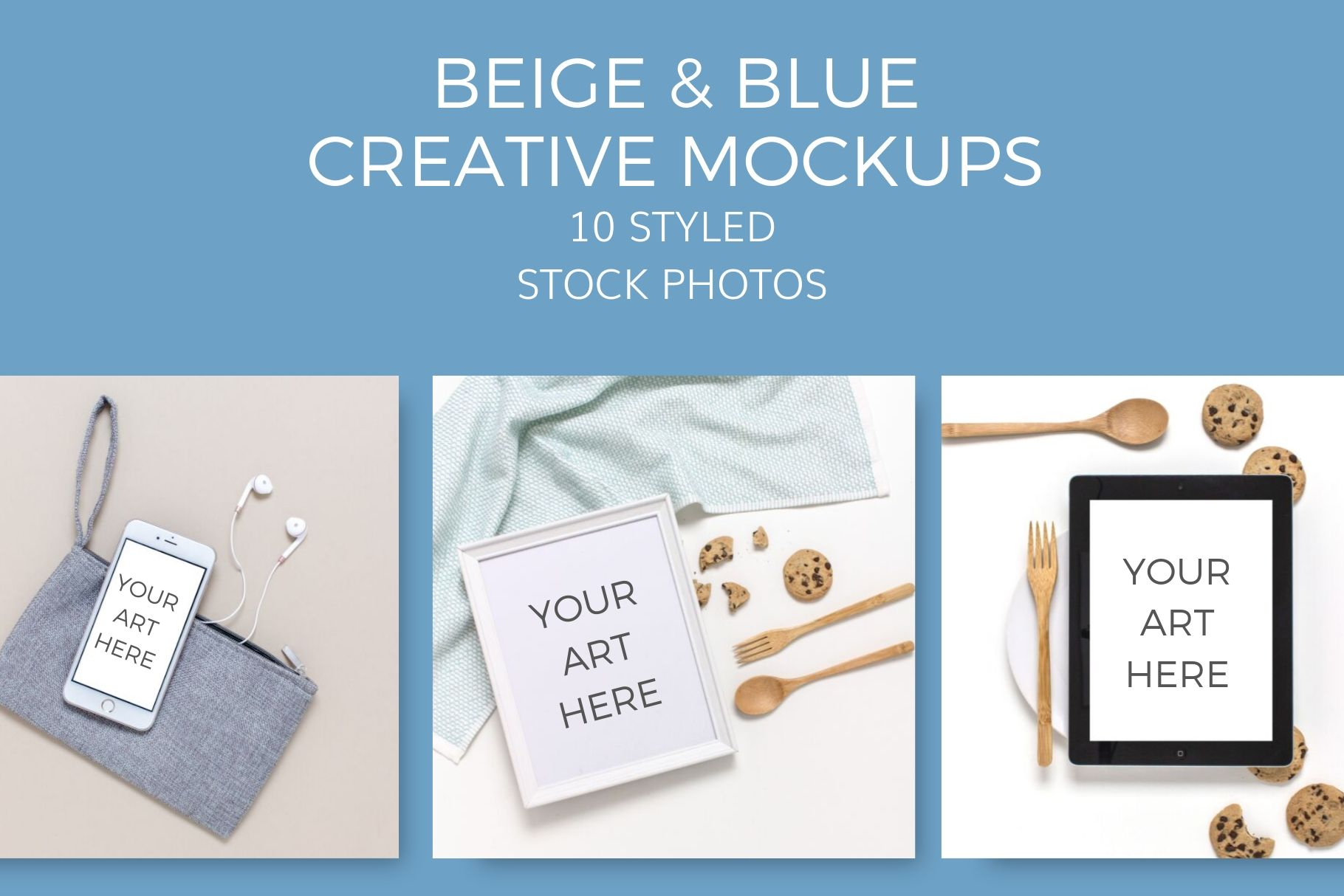 creative beige blue cooking mockups Styled Stock Photos by Ivory MIx(7)