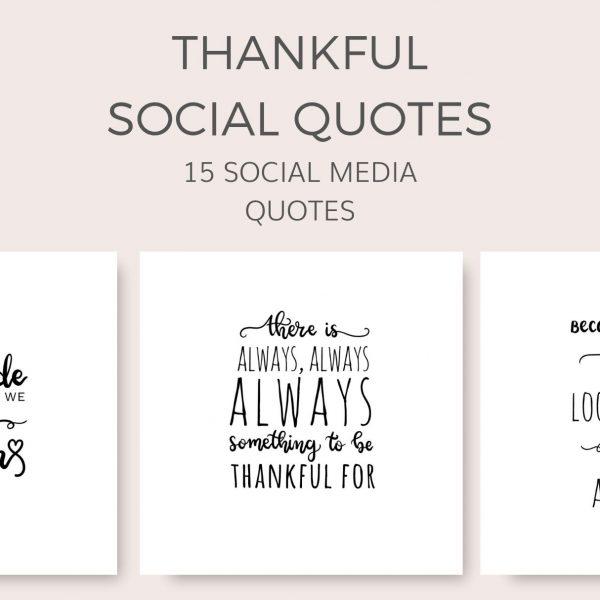 thankful grateful thanksgiving social media quote graphics