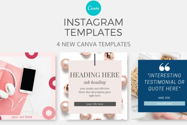 Instagram Canva Templates