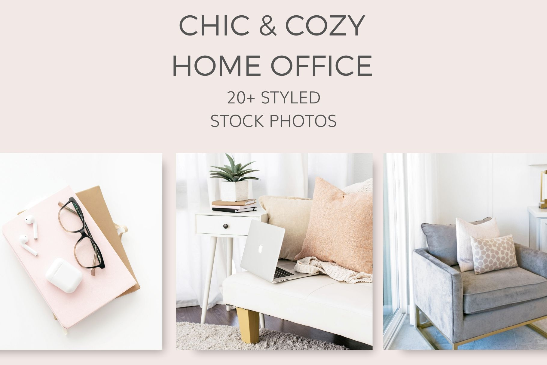 Chic Cozy Home Office