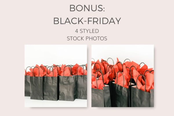 Black Friday Bonus Styled Stock Photos samples