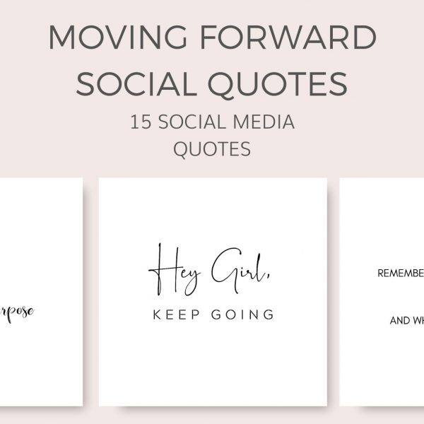 Motivation - moving forward social quotes
