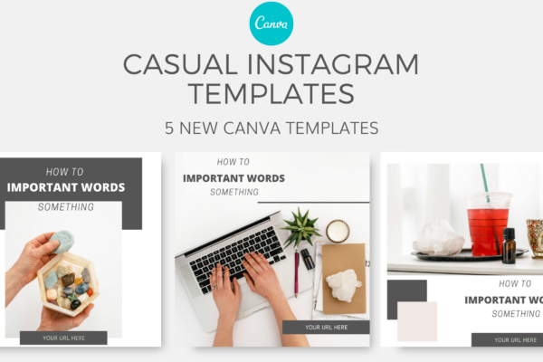 Casual Canva Templates