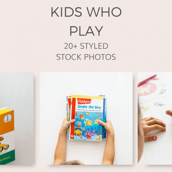 kids who play stock photos