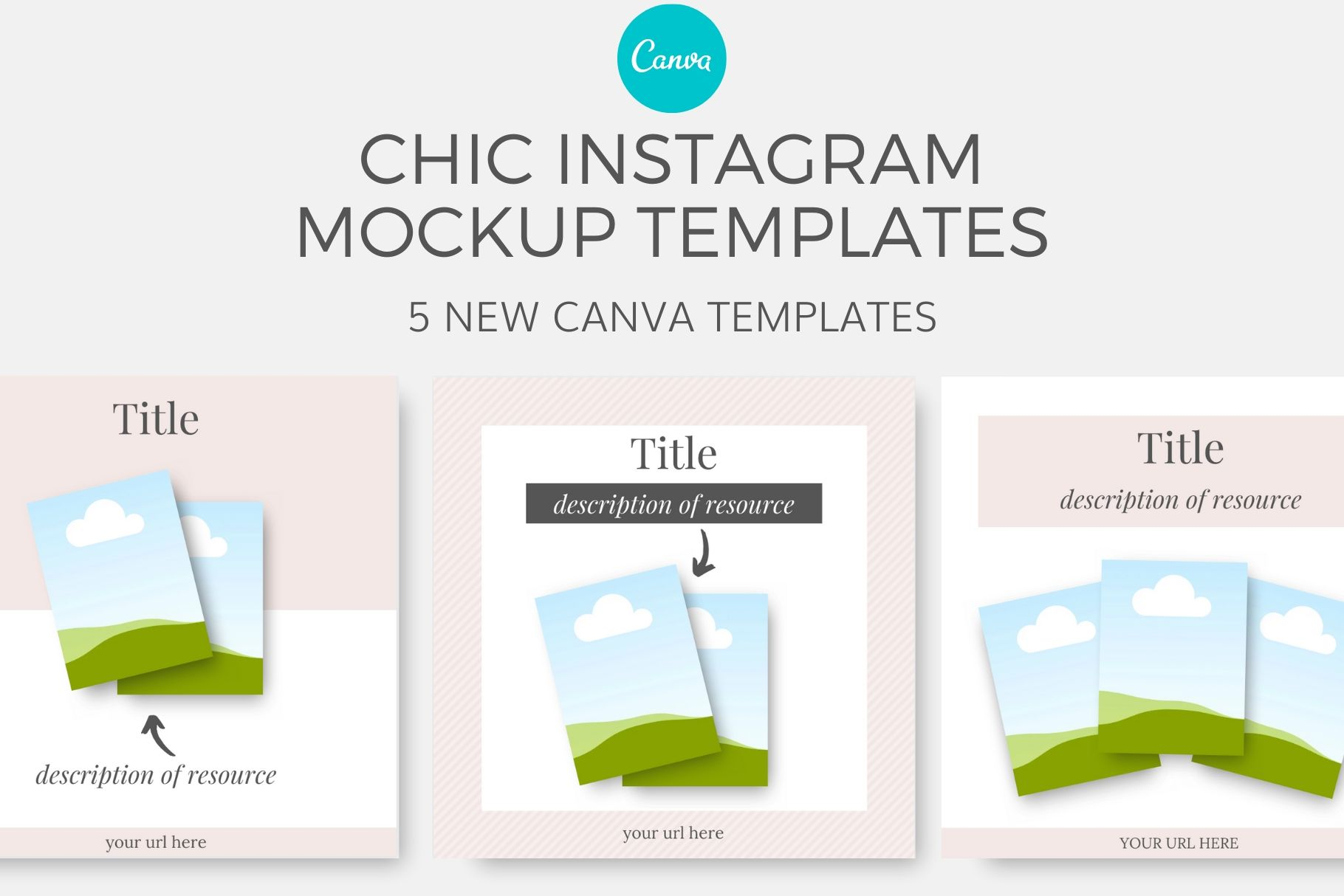 mockup canva instagram templates