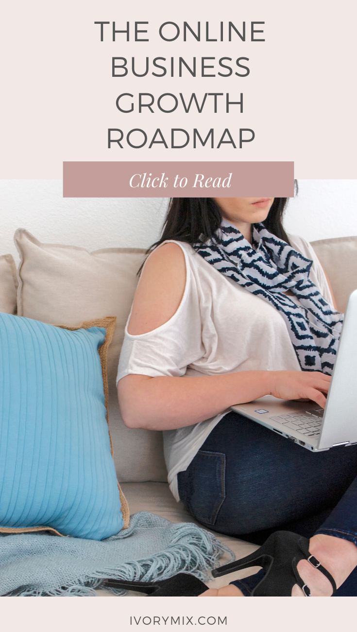 A complete step-by-step online business growth roadmap