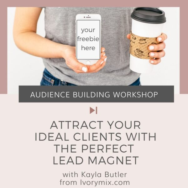 create your lead magnet workshop