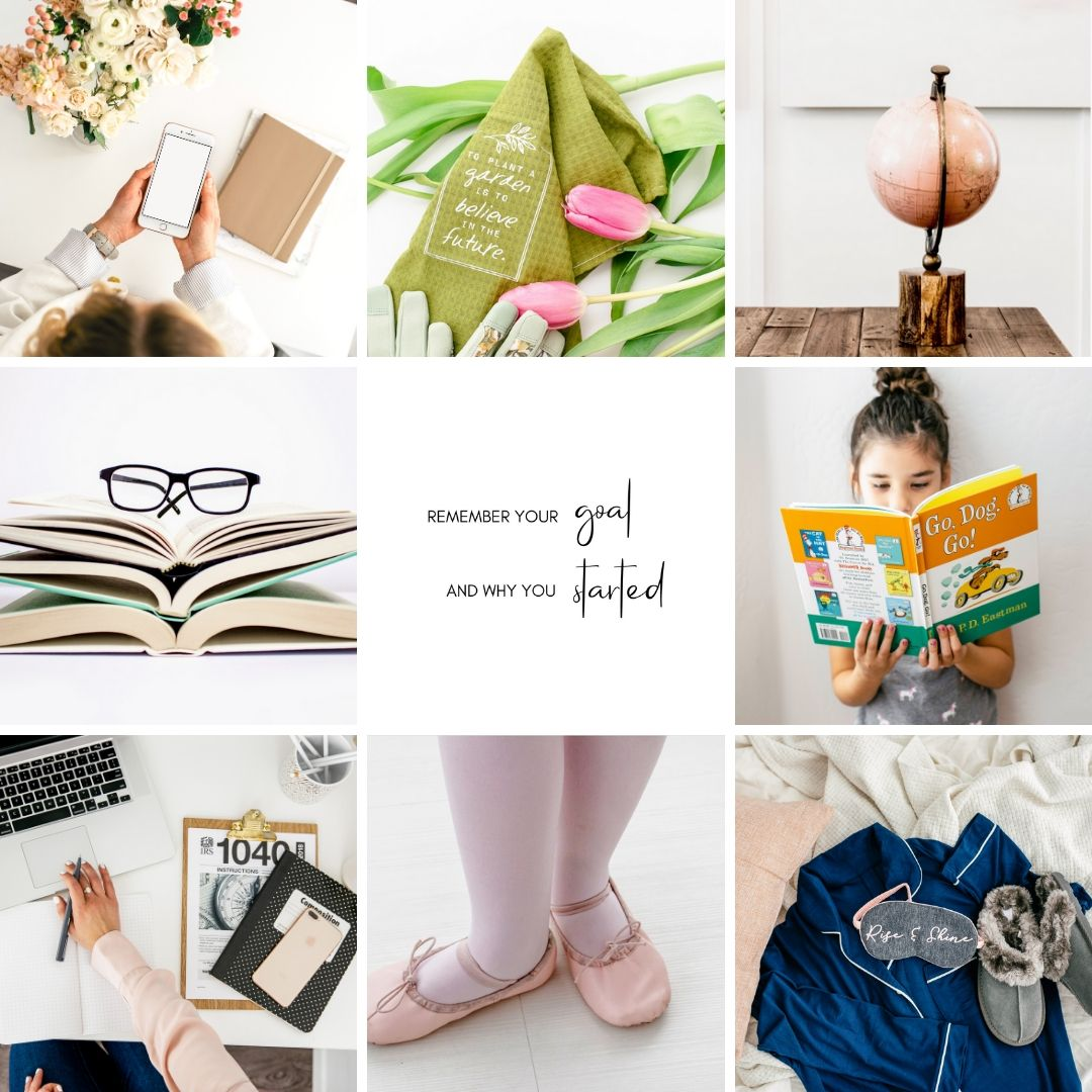 April content ideas and images - How to create a content calendar for april