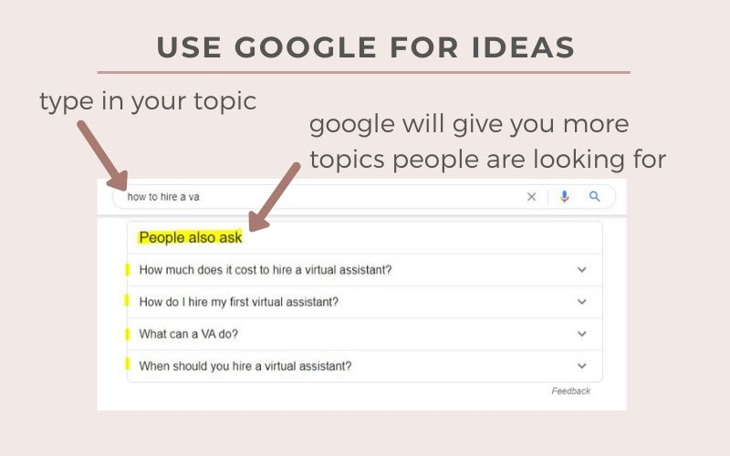 google email freebie topics