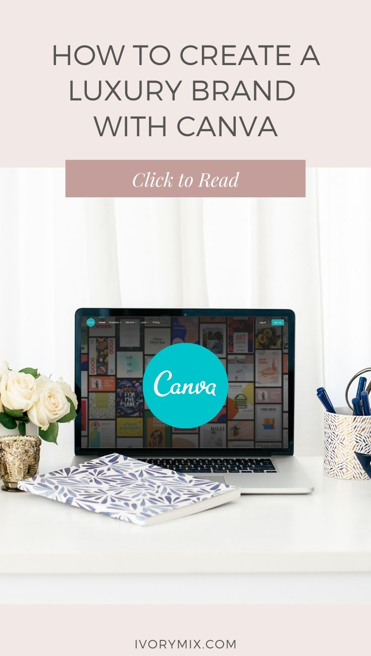 How to create a luxury brand in canva