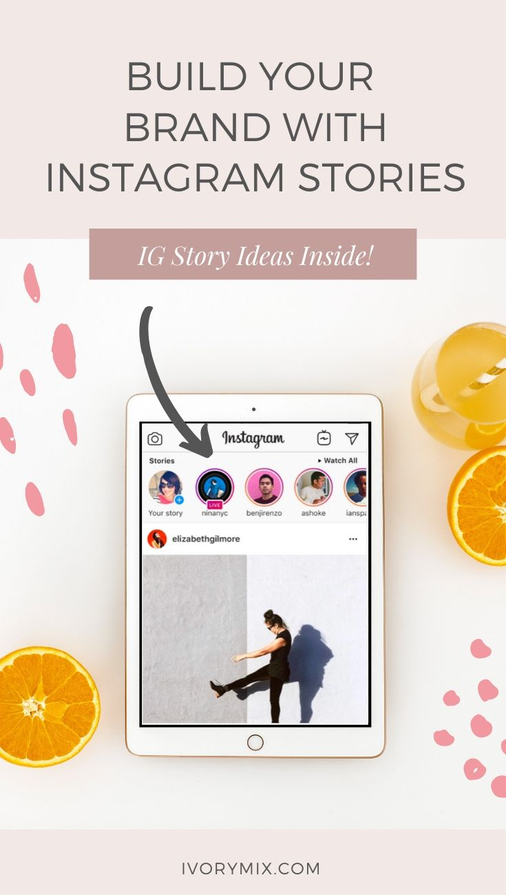 How to create instagram stories to build your brand