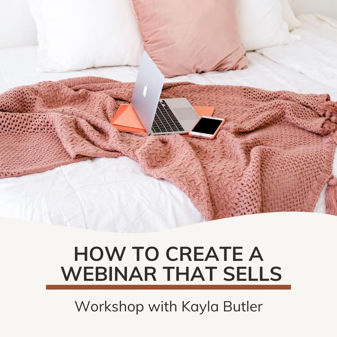 how to create a workshop that sells