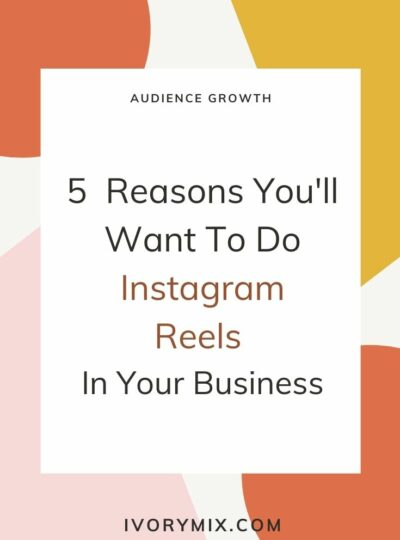 5 reasons to do instagram reels in your business - cover