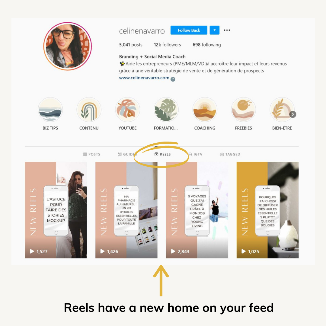 reels on instagram for your business